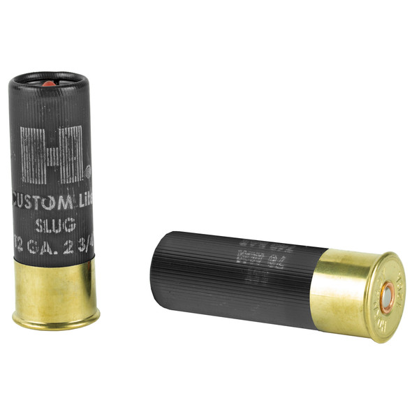 "Hornady Custom Lite FTX 12GA 2.75"" Shotshell Slug 5 Rounds"
