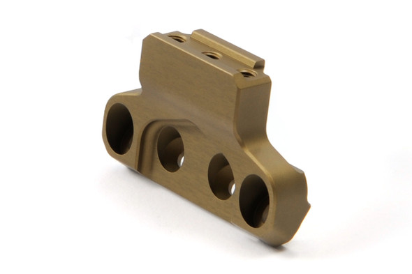 Unity Tactical FAST LPVO Mount Offset Optic Base FDE