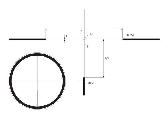 Leica Amplus 6 1-6x24 L-4a Duplex Illuminated Reticle