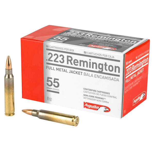 Aguila.223 55GR FMJ Ammunition 50 Rounds