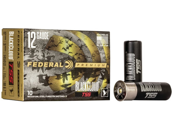 "Federal Black Cloud TSS 12 Gauge 3"" 1 1/4 oz 7/BB Shot 10 Rounds"
