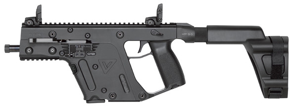 "Kriss USA KV45PSBBL20 Vector Gen II SDP SB 45 ACP 5.50"" 13+1 Black SB Tactical Arm Brace Stock"
