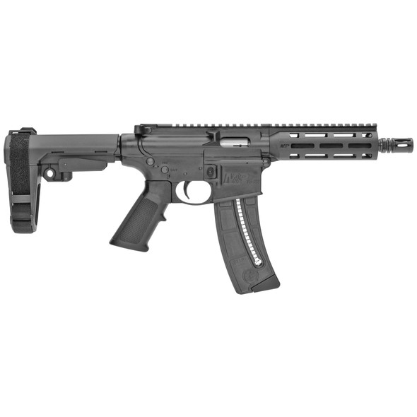 "Smith&Wesson M&P15-22 Pistol 22LR 8"" 25RD w/ SBA3"
