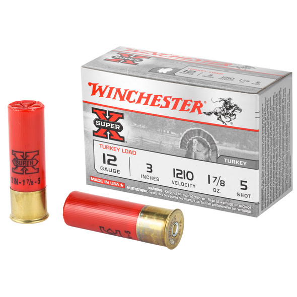 "Winchester Super-X 12GA 3"" Shotshell #5 Ammunition 10 Rounds4"