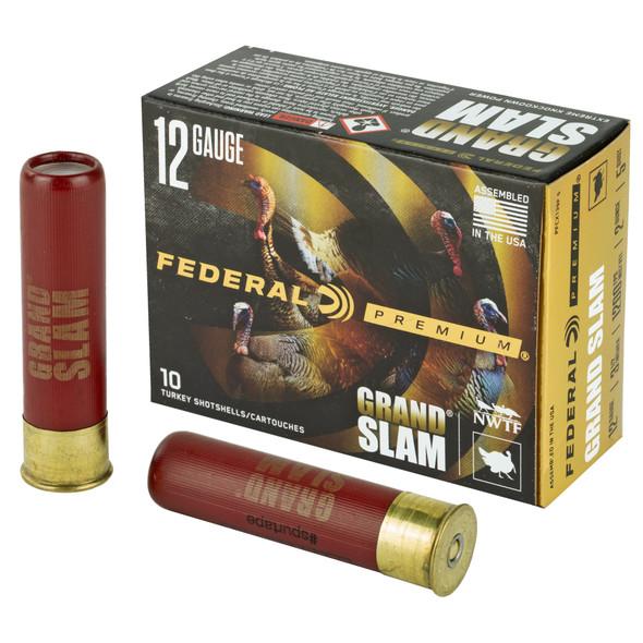 "Federal Premium Grand Slam 12GA 3.5"" Shotshell #5 Ammunition 10 Rounds"