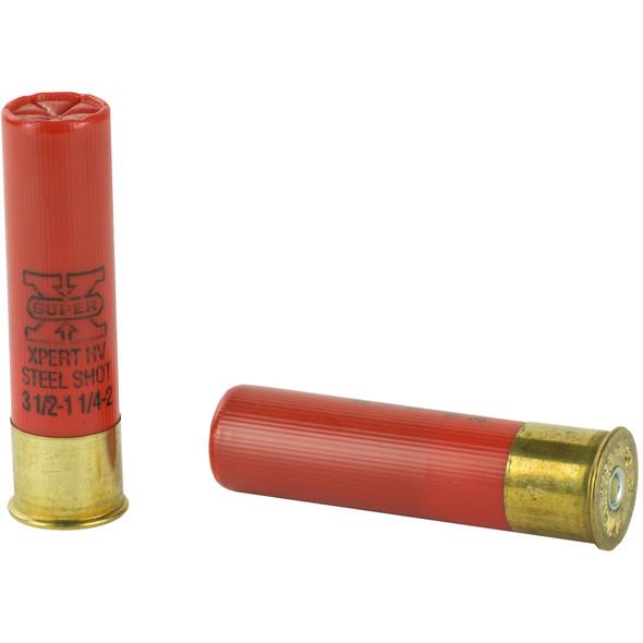 "Winchester Xpert Hi-Velocity 12GA 3.5"" Steel Shot #2 Ammunition 25 Rounds"