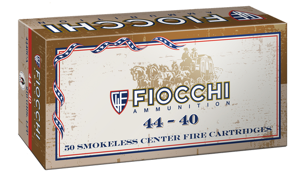 Fiocchi Cowboy Action 44-40 Win 210GR LRNFP Ammunition 50 Rounds
