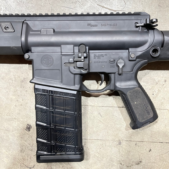 Dept Used Sig Sauer 716-G2 7.62 Rifle w/ MagPul PRS Stock