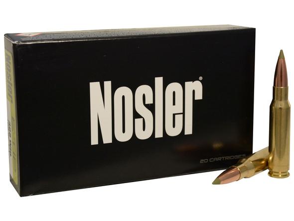 Nosler E-Tip 308 Winchester 168 Grain Lead Free Ammunition 20 Rounds