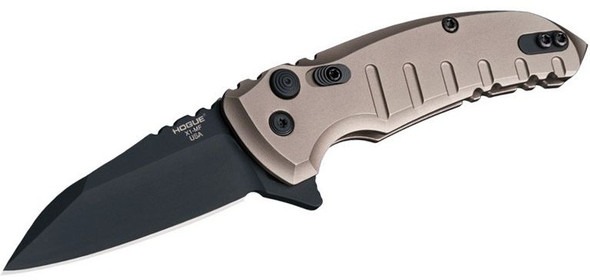"Hogue X1-Microflip Manual Flipper 2.75"" Wharncliffe Blade FDE"