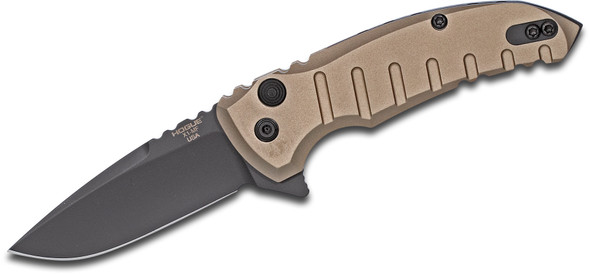 "Hogue X1-Microflip Manual Flipper 2.75"" Drop Point Blade FDE"