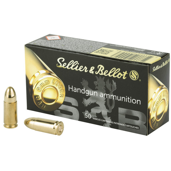 Full Metal Jacket projectiles are the ideal choice for recreational target shooting and extended training sessions at the range. When you want great value without sacrificing quality and performance, you can rely on Sellier & Bellot full metal jacket ammunition to deliver reliable results.