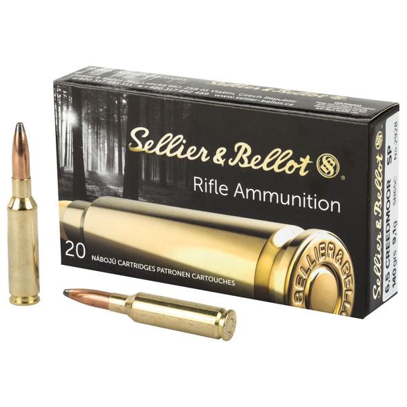 SB Rifle 6.5 Creedmoor 140gr SP Ammunition 20rds