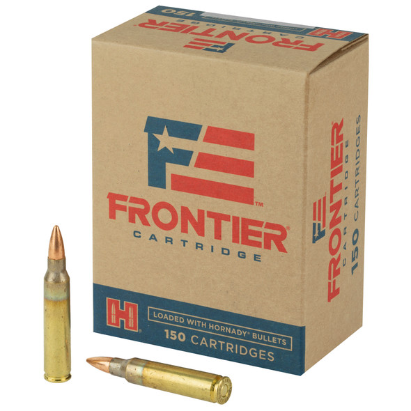 Frontier Cartridge 223 Rem 55GR FMJ Ammunition 150 Rounds