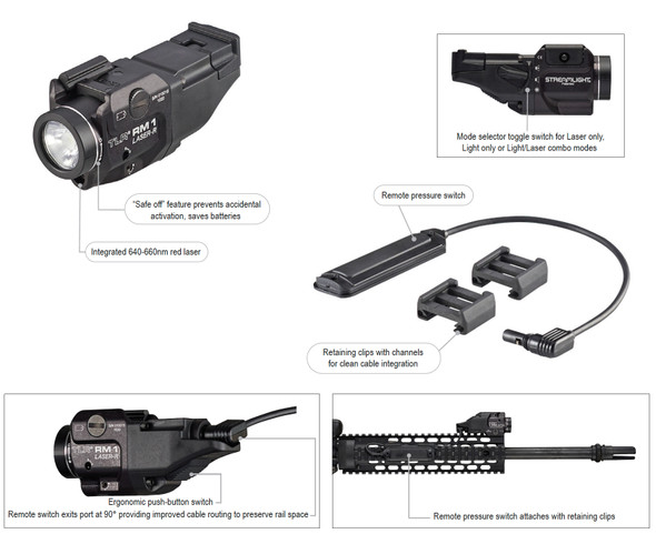 Streamlight TLR-RM1 Rail Mounted Light & Laser