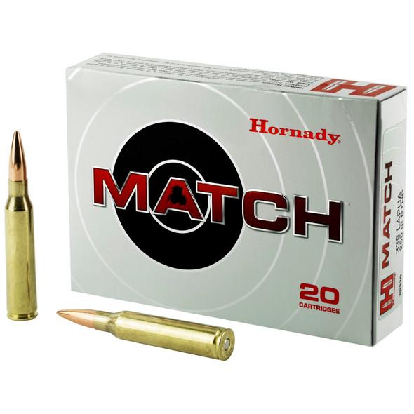 Hornady Match 338 Lapua 250GR HPBT Ammunition 20 Rounds