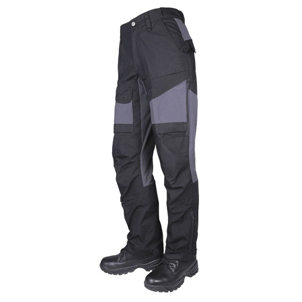 Tru-Spec Men's 24/7 Series Polyester/Cotton Rip-Stop Xpedition Black/Charcoal Pants
