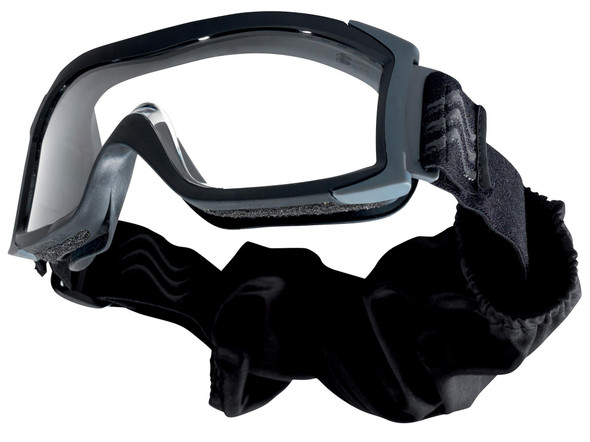The newest generation of low profile ballistic goggles, the X1000 goggle adapts to your every need. With choice of interchangeable lenses the X1000 goggle can be adapted for use with or without prescription spectacles. It is perfectly suited for use while wearing a helmet, offering comfort, adaptability and protection. The X1000 is the ideal goggle for extreme situations.
