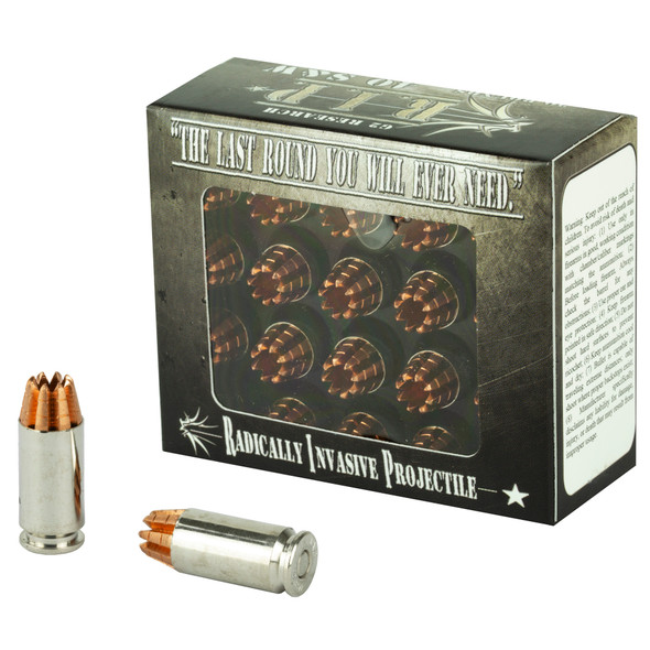 G2 Research R.I.P. 40 S&W 115GR HP Ammunition 20 Rounds