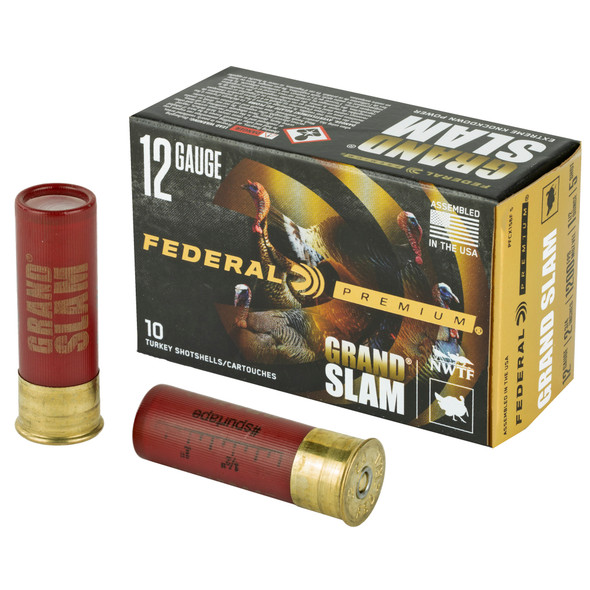 "Federal Premium Grand Slam 12GA 2.75"" Shotshell #5 Ammunition 10 Rounds"