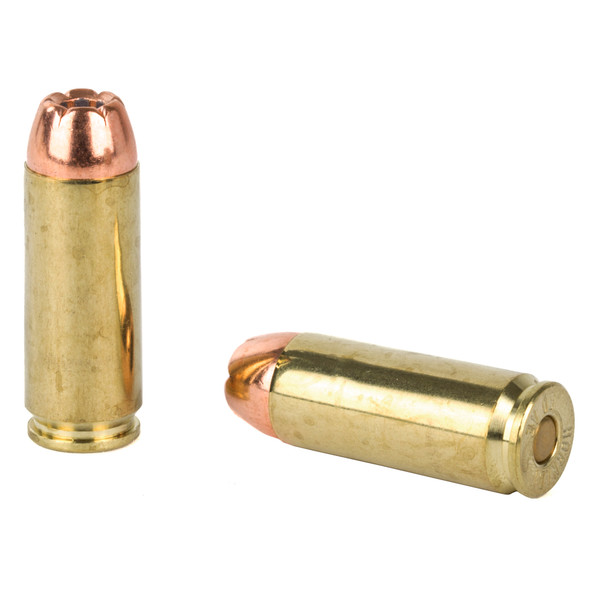 Handgun shooters looking for supreme accuracy and maximum knock down power have come to rely on Hornady Custom pistol ammo, loaded with either the famous Hornady XTP (Extreme Terminal Performance) bullet, FMJ or FTX bullet.