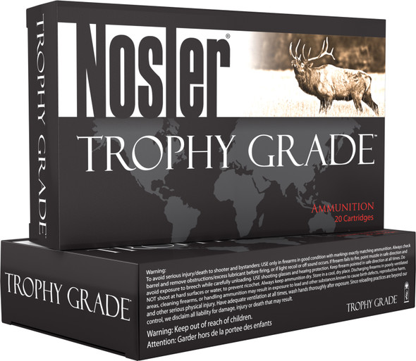 Nosler Trophy Grade 308 Win 168GR AccuBond Long Range Ammunition 20 Rounds