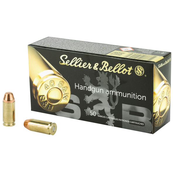 SB 40SW 180GR FMJ Ammunition 50 Rounds
