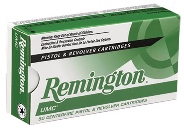Remington UMC 38 Super +P 130GR FMJ Ammunition 50 Rounds