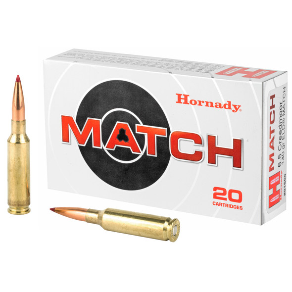 Hornady Match 6.5 Creedmoor 140GR ELD Ammunition 20 Rounds