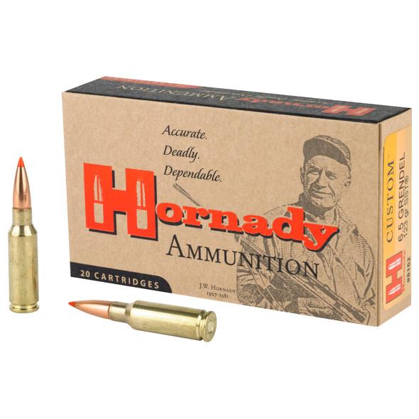 Hornady Custom 6.5 Grendel 123GR SST Ammunition 20 Rounds