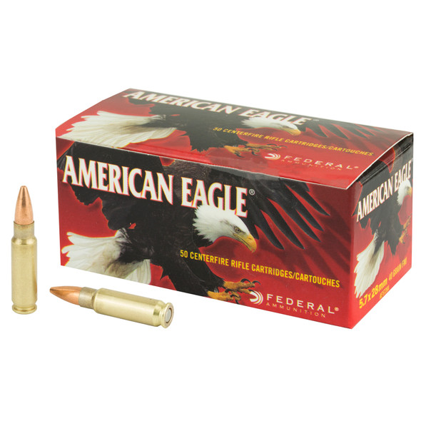 Federal American Eagle 5.7x28mm 40GR FMJ 50 Rounds