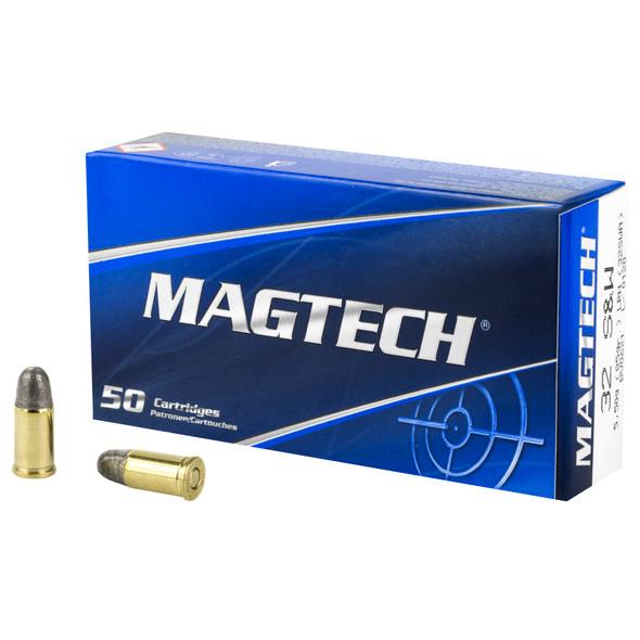 Magtech 32 S&W 85GR LRN Ammunition 50 Rounds