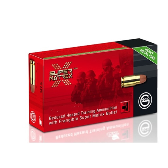 Geco Super Matrix 45 ACP 147GR Frangible Lead-Free Ammunition 50 Rounds