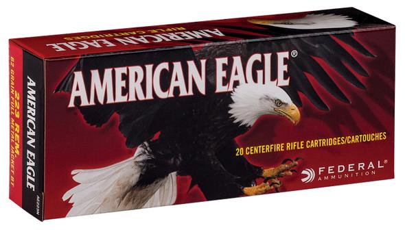 Federal American Eagle 223 Rem 62GR FMJBT Ammunition 20 Rounds