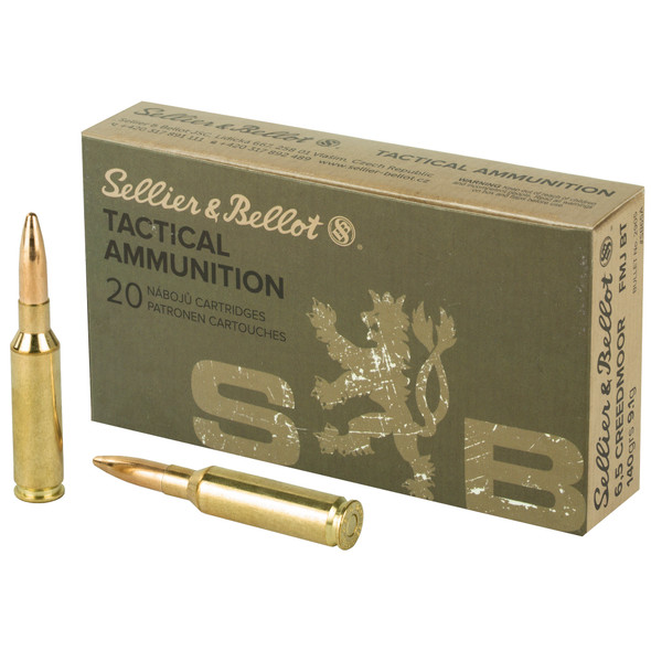 SB Rifle 6.5 Creedmoor 140GR FMJBT Ammunition 20 Rounds