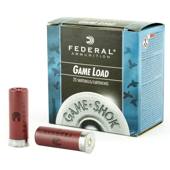 "Federal Game-Shok Upland 12GA 2.75"" 1 oz 8 Shot Ammunition 25 Rounds"