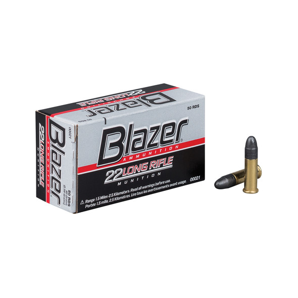 CCI Blazer 22LR 40GR Lead Round Nose Ammunition 50 Rounds