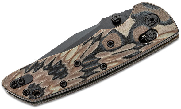 "Hogue Deka Manual Folder 3.25"" Dark Earth Clip Point Blade"