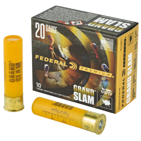 "Federal Grand Slam 20GA 3"" #5 1-5/16oz Ammunition 10rds"