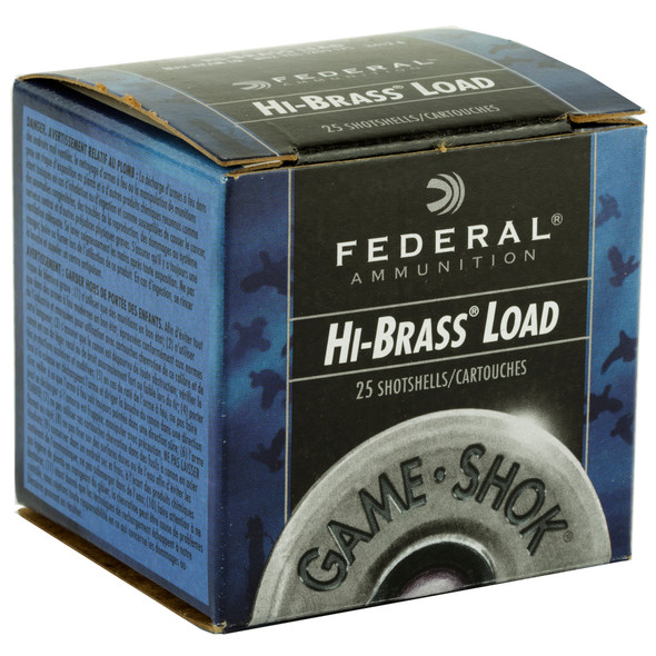 "Federal Game-Shok 410GA 2.5"" 1/2 oz 6 Shot Ammunition 25 Rounds"