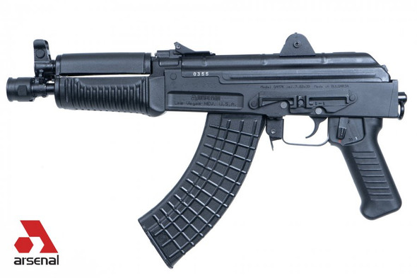 Arsenal SAM7K-34 7.62x39mm AK Pistol with Rear Quick Detach Port