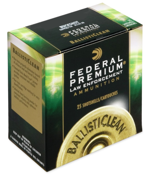 "Federal Premium Balistic Clean 12GA 2.75"" 325GR Rifled Slug Ammunition 25 Rounds"
