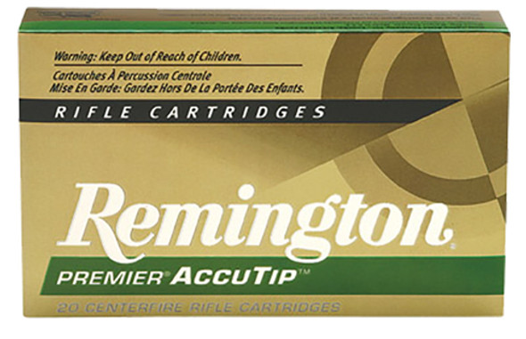 Remington Premier 243 Winchester 95GR AccuTip Ammunition 20 Rounds