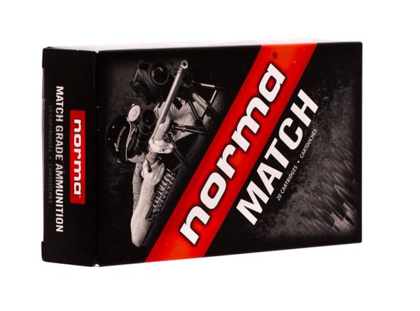 Norma Match 6.5 Creedmoor 130gr HPBT Ammunition 20rds