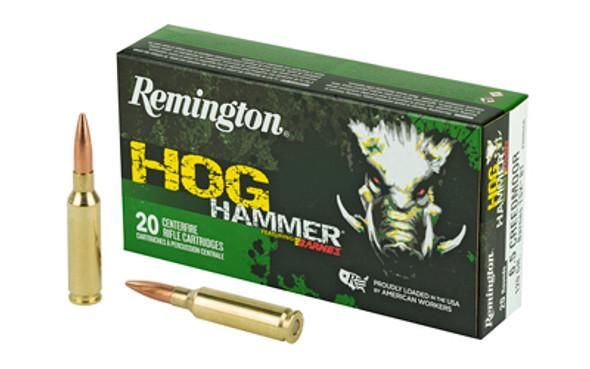 Remington Hog Hammer 6.5 Creedmoor 120GR Barnes TSX BT Ammunition 20 Rounds