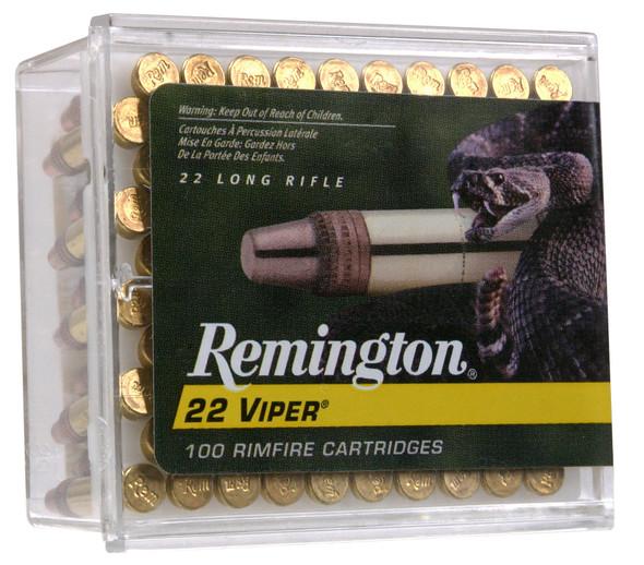 Remington Viper 22LR 36gr Truncated Cone Ammunition 100rds