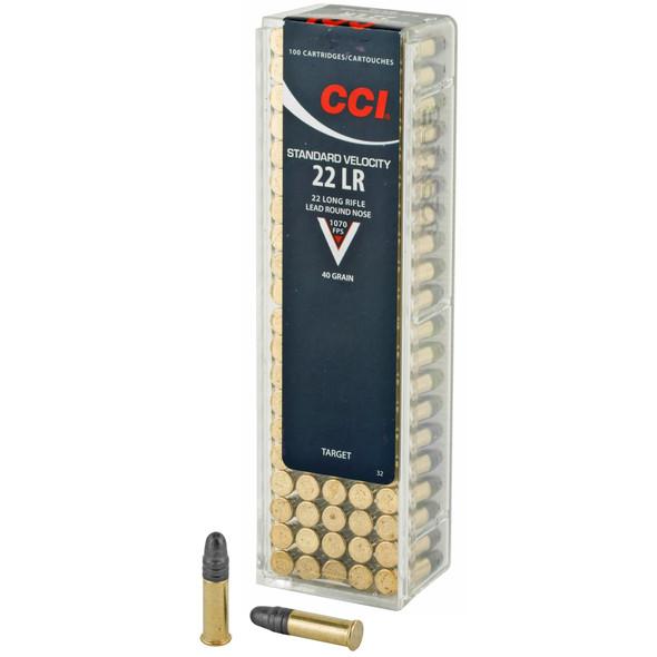 CCI Standard Velocity 22LR 40gr RN Ammunition 100rds