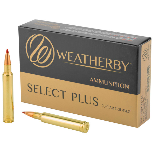 Weatherby Select Plus 300 Weatherby MAG 200gr ELD-X Ammunition 20rds