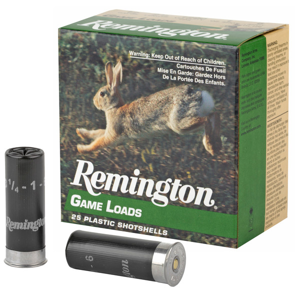 "Remington Game Loads 12GA 2.75"" 1oz 6 Shot Ammunition 25rds"