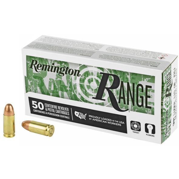Remington Range 9mm 115GR FMJ Ammunition 50rds